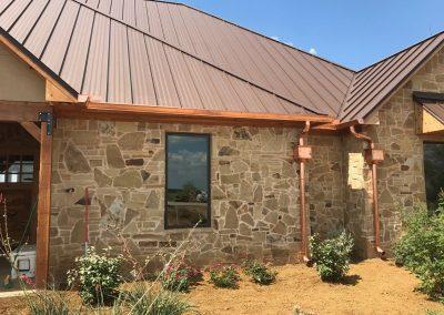 Copper Gutters Installation